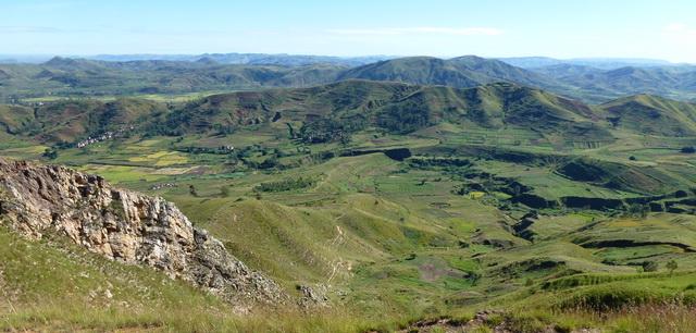 au nord massif Ambatoharanana