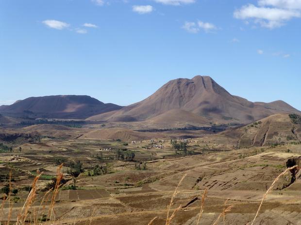 le majestueux volcan Andranonatoa