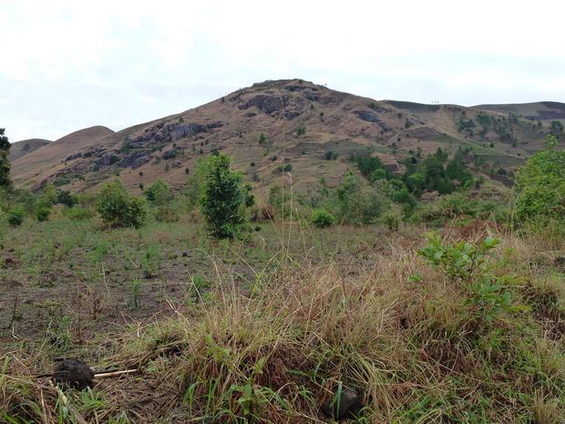 massif Ambohitromby sur la piste de Mananasy