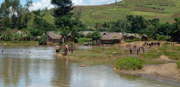 Randonnée vtt village amparykisoa