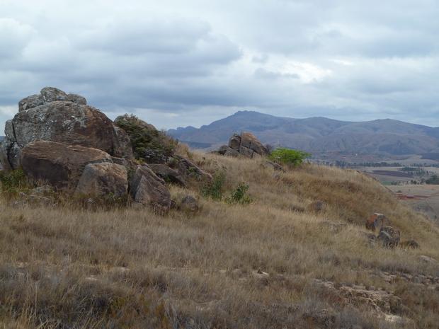 Du sommet Manantsoa Andringitra à l' horizon