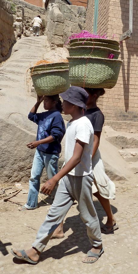 Village Ambohimananjo culture et travail du sisal