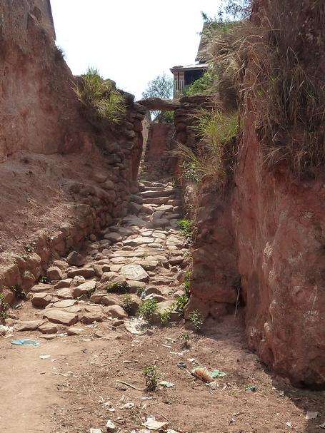 entrée Ambohinaorina : vavahady