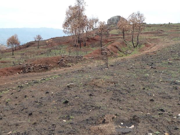 sommets fortifiés Fossés et ses remparts