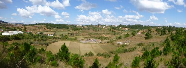 vers la colline Ambohimanga la source