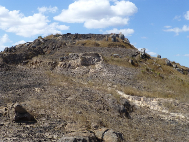 remparts et murailles Rova Ambomavony