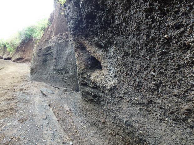 sédiments volcaniques