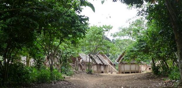 un village typique de la côte