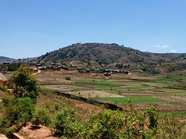 Massif Ambohitrangano village Morarano-Indilana
