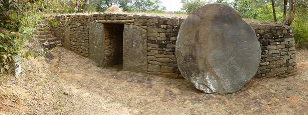 les portes d' Ambohimanga Vavahady Miandravahiny Ambony