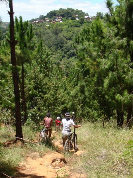 descente sur Ambohimanga