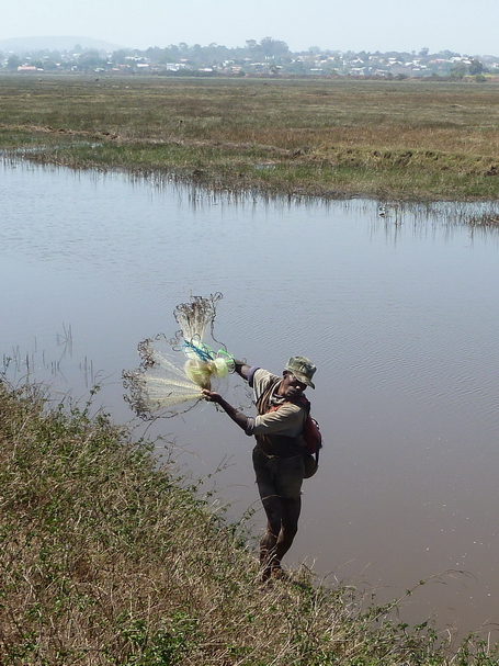 pêche au filet 'harato'
