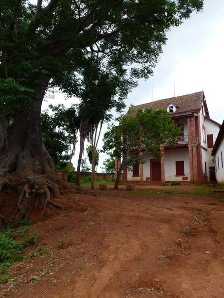 maison à balcon village Soanarivo