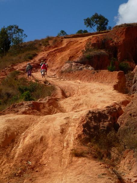 piste enduro sur le massif Langana