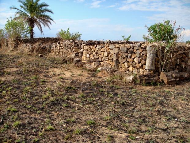 tombeaux roches silicifiées