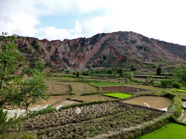 face nord Mandrangobato