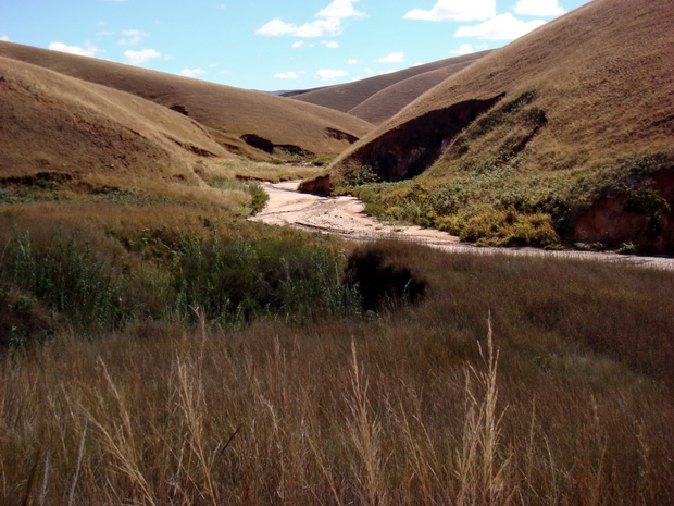 Sur la piste Mandritsara rivière Kelivalano