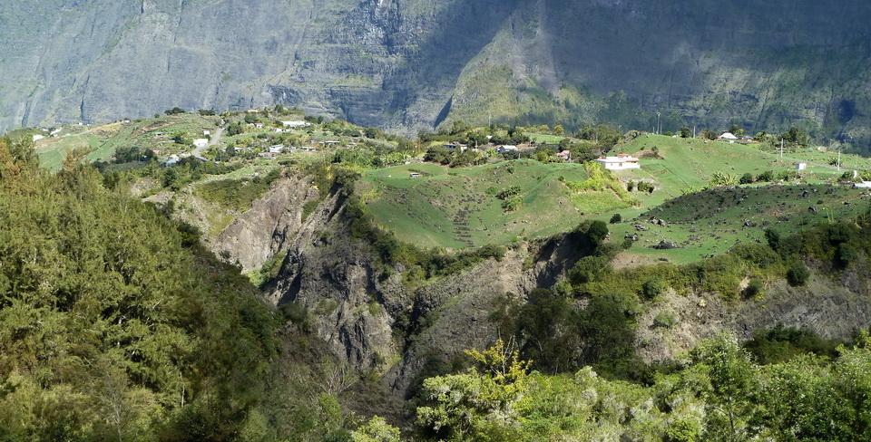 île Bourbon : îlet à Cordes Cilaos île de la Réunion