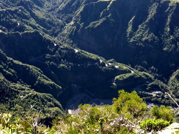 route Cilaos