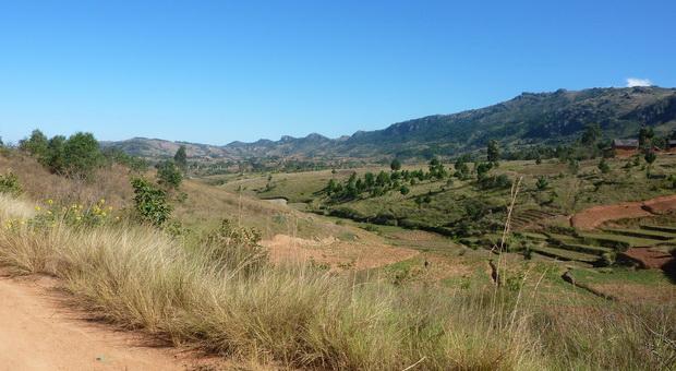 L'imposant massif Andringitra