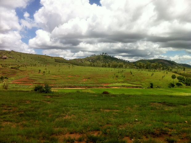 les massifs Antavonomby Rova Ambohimanoro