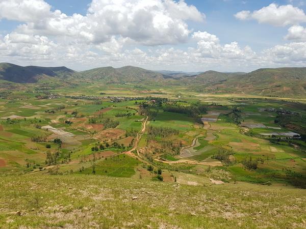 RN 1 descente sur Mandrevo Antanetimboangy