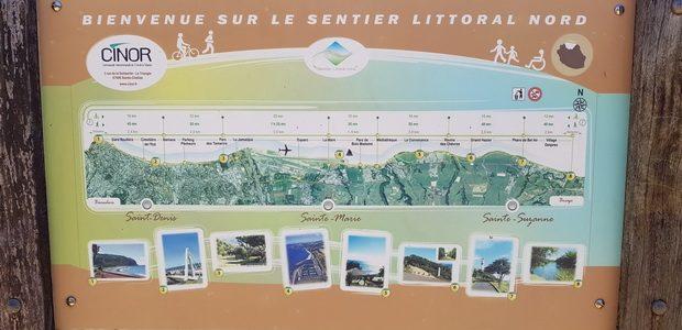 St Denis sentier littoral nord