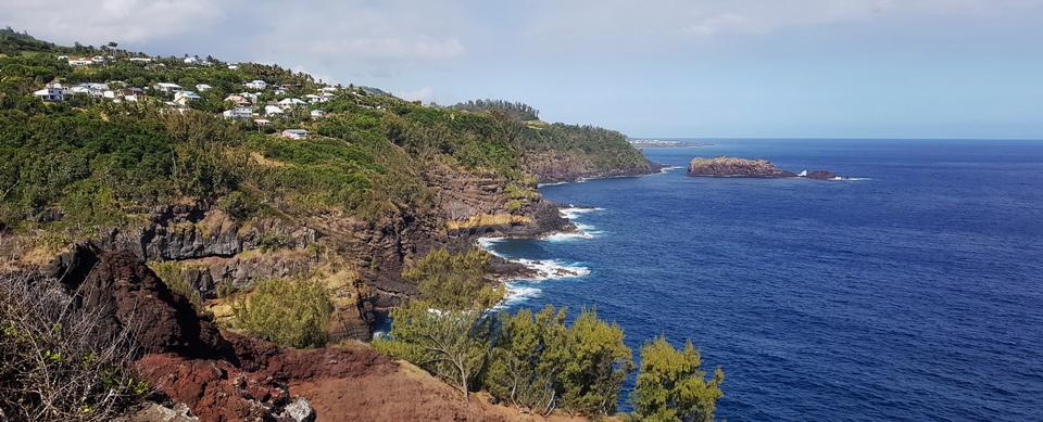 du cap Auguste vue sur Petite île
