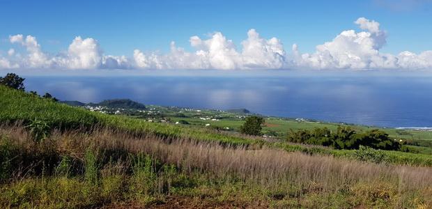 du sommet du Piton vue sur mer
