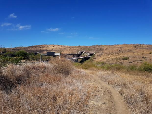 route des Tamarins à hauteur du Cap la Houssaye