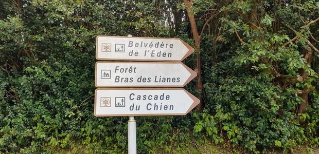 route Belvédère de l'Eden