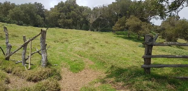 Chemin Mondon propriété Mautan sentier privé
